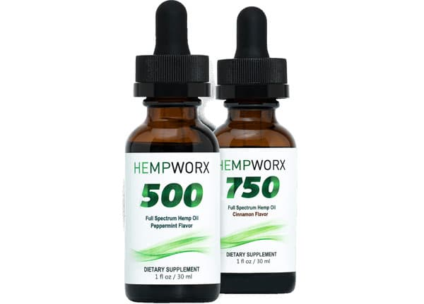 HempWorx 500mg Full Spectrum CBD Oil