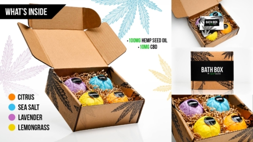 HempWorx Bath Box, HempWorx Bath Bombs, CBD