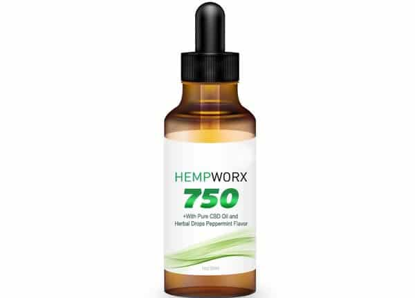 HempWorx 750mg Full Spectrum CBD Oil