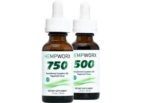 HempWorx 750mg THC Free CBD Oil