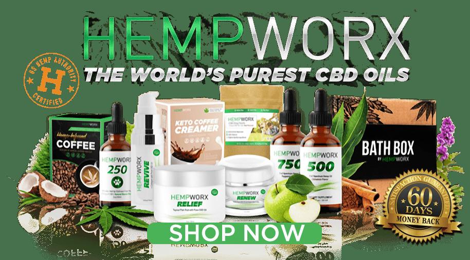 HempWorx Shop, CBD Oil, Hemp Oil