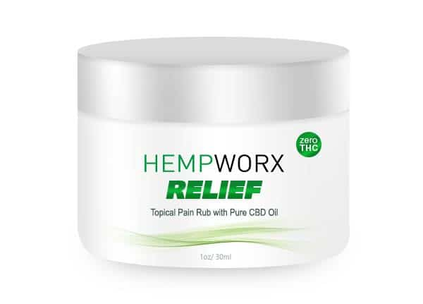 Relief Topical Rub Cream
