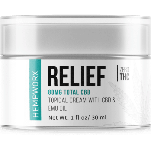 HempWorx Relief 30ml Topical CBD Cream
