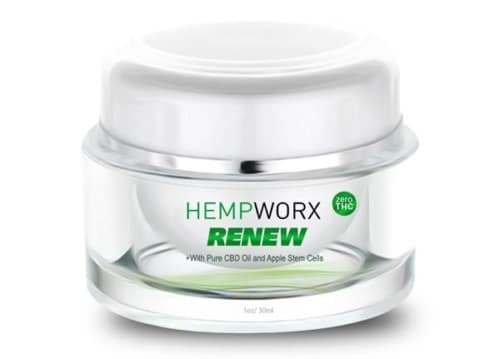 CBD Skin Care, Renew Cream, HempWorx