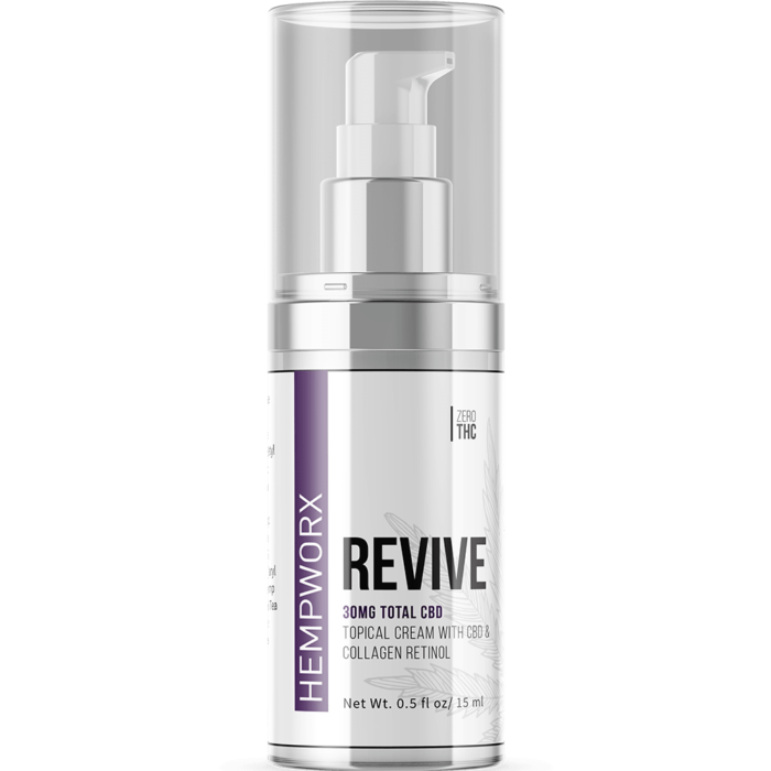 HempWorx Revive Skin Care Cream Topical CBD