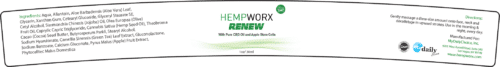 Renew Label hempWorx