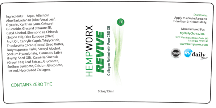 Revive Label Hempworx