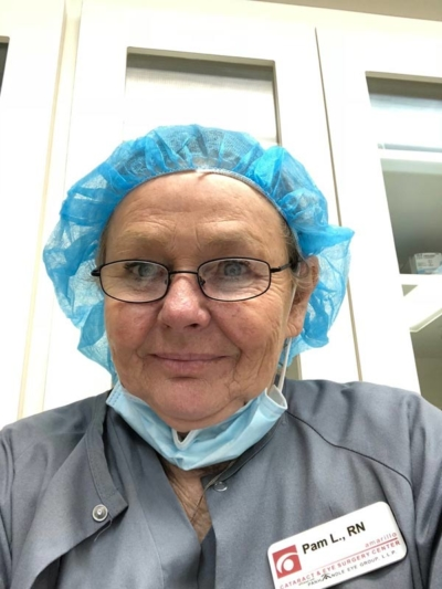 Nurse Pam Lewis