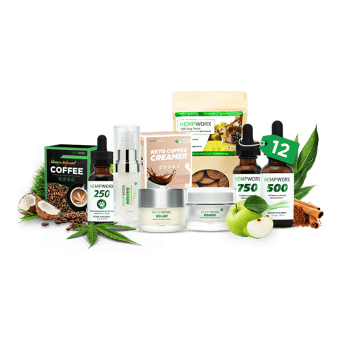 HempWorx Executive Value Pack 12 items