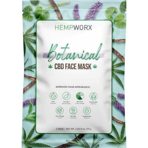 HempWorx Botanical CBD Facemask, CBD Online