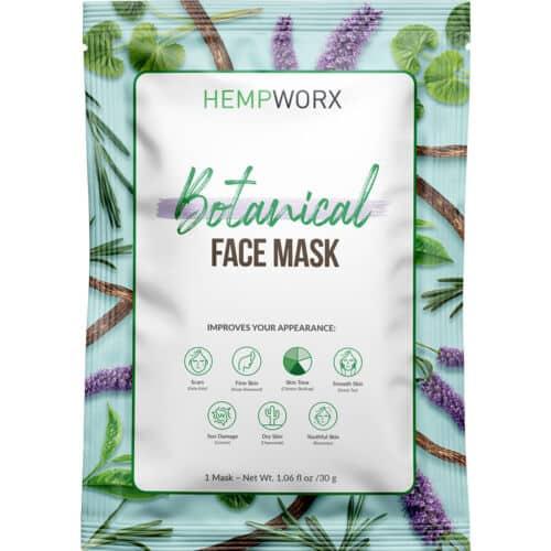 HempWorx Botanical Facemask, HempWorx Canada