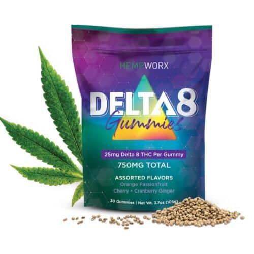 Hempworx Delta 8 THC Gummies, CBD Online