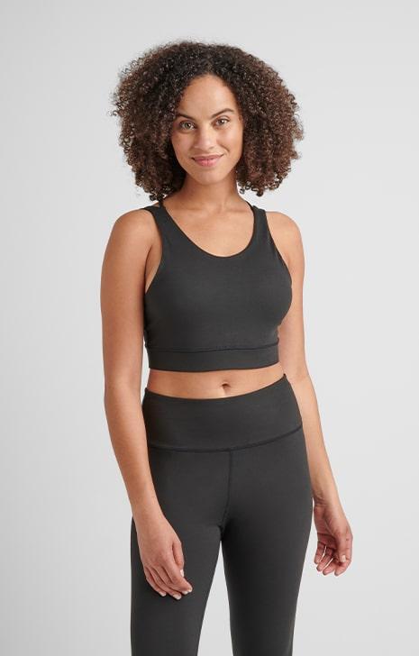 hemp sports bra, work out clothing