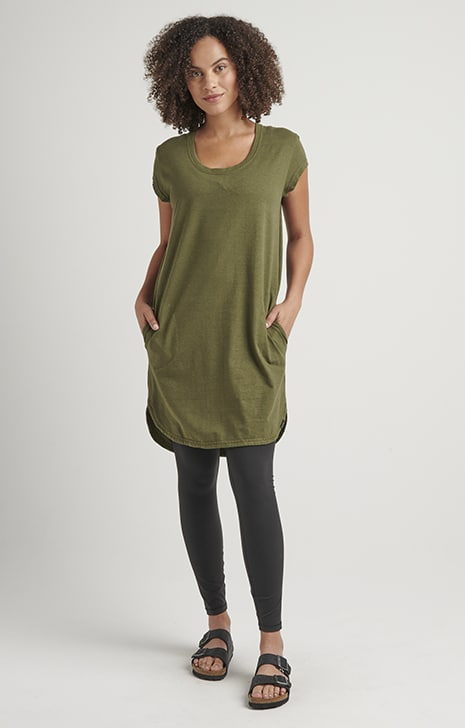 Hemp Tee Dress, Hemp Clothing